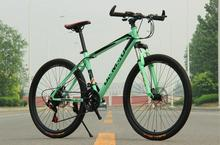 Buy 2016 new cycling jersey bicicleta mountain bike 26er mountain bicycle male man woman bike 21 speed Disc brakes for $145.50 in AliExpress store