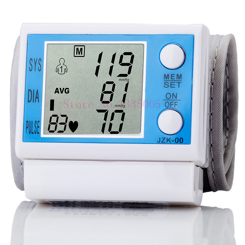 Special Offer Sale Wrist Tonometer Health Monitors Pulse Rate Monitor Good Blood Pressure Monitors medidor de pressao arterial(China (Mainland))