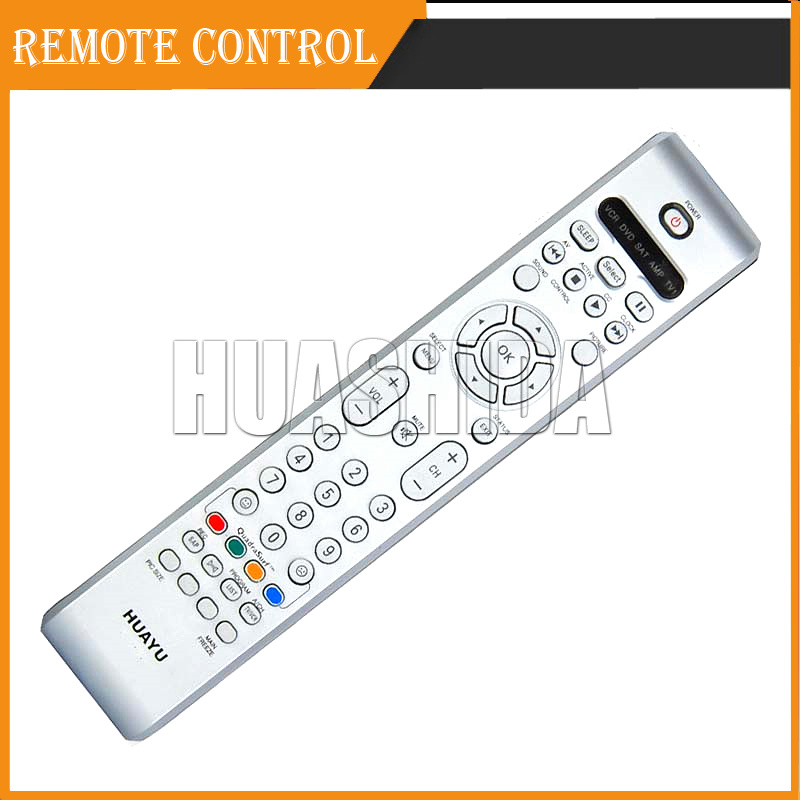 Universal Remote Control For Philips TV / DVD / VCR / AMP / SAT WITHOUT SETUP(China (Mainland))