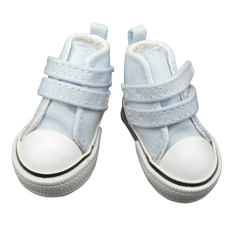 doll shoes light blue
