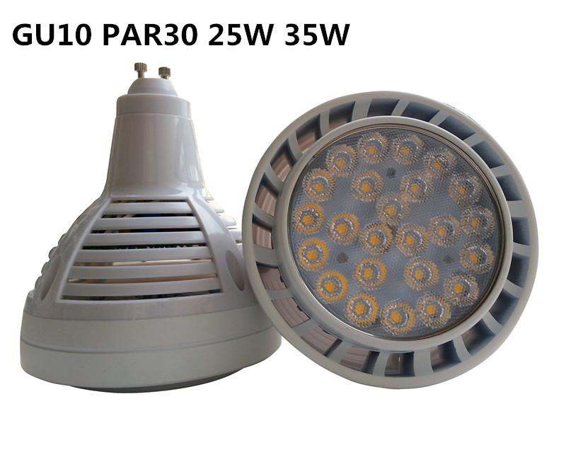 free shipping High power GU10 led PAR30 Light 25w 35w OSRAM leds GU10 spotlight par30 replace Metal halide lamp(China (Mainland))
