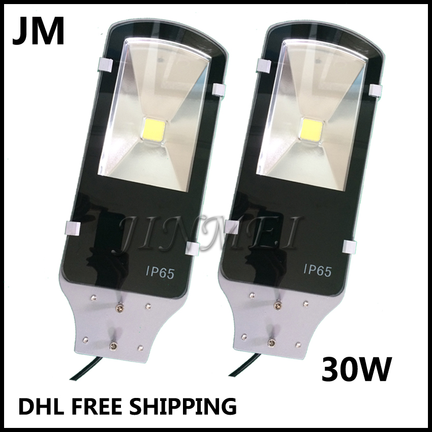 DHLFree Shipping 2pcs* 30W led Street Light for outdoor use Brighter luminous 3 years' warranty(China (Mainland))