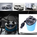 12 24V 3 1A Output Dual USB Car Charger Adaptor With Voltage Current Display Charger Car
