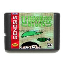 Buy Teddy Boy Blues 16 bit MD Game Card Sega 16bit Game Player for $3.79 in AliExpress store