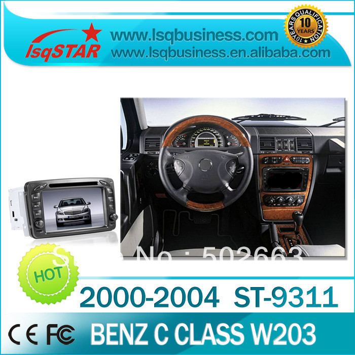 car media player for Benz W203 with GPS, bluetooth,RDS,radio,PIP,CD,USB,ipod,phonebook,support SD/USB/IPOD/MP3/MP4+free shipping(China (Mainland))