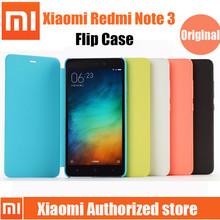 Original Xiaomi RedMi Note 3 Flip case Stand leather Cover For Hongmi Note3 Prime Mobile Phone