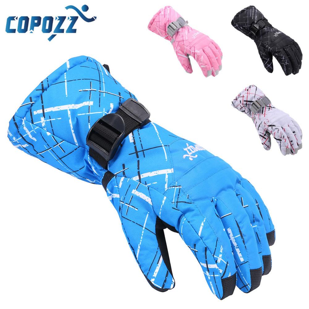 COPOZZ TPU Skiing Gloves Motorcycle Snowmobile Snowboard Ski Ride Gloves Thick Waterproof Windproof Winter Warm Gloves Men Women(China (Mainland))