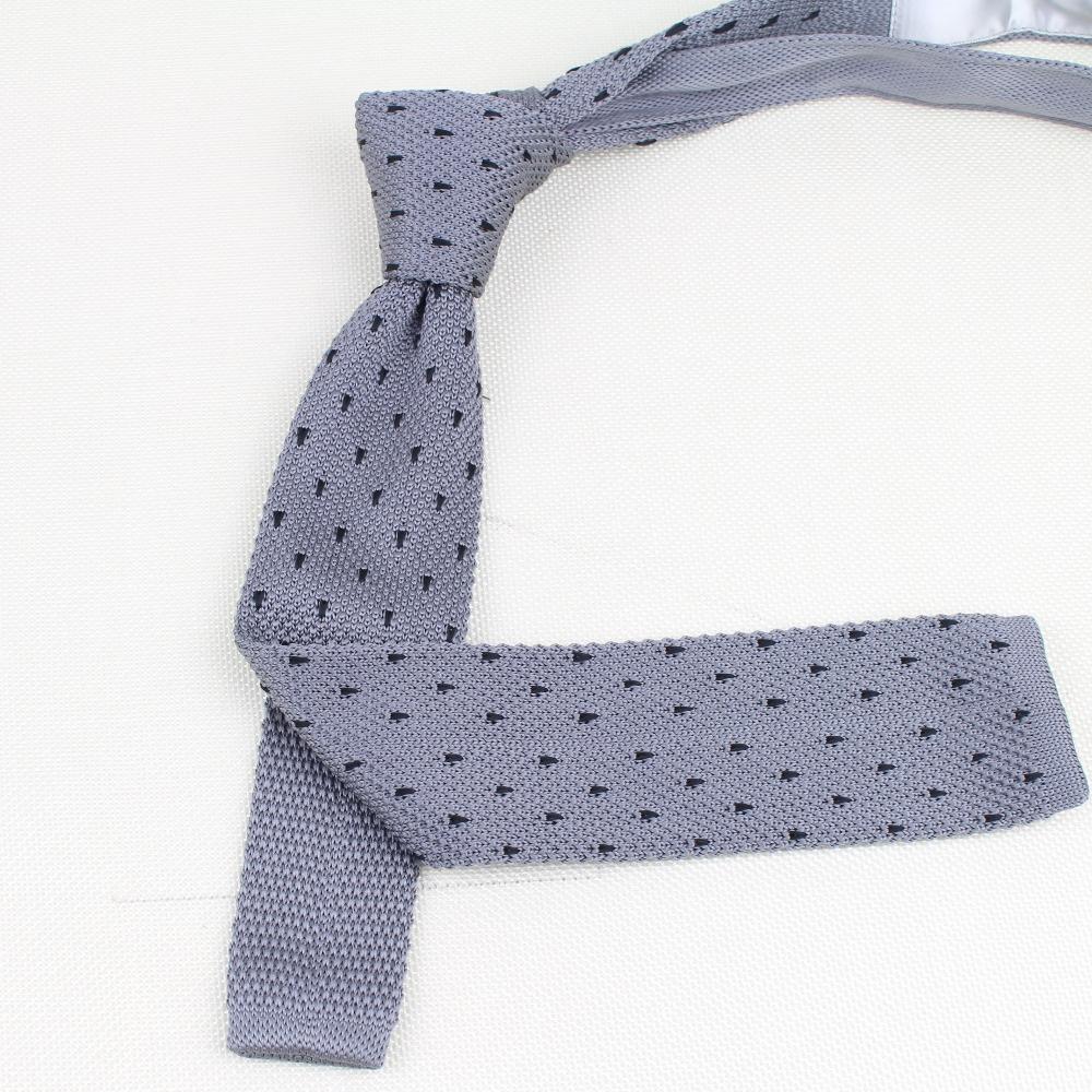 Men's Knitted Knit Leisure Striped Ties Fashion Skinny Narrow Slim Neck Ties For Men Skinny Woven Designer Cravat Free Shipping
