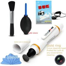 Promotion Original 6in1  lens pen  keeper cleaning pen paper cloth  brush cleaning kit for Canon 5d2 60d 550d 650d d7000 d90(China (Mainland))