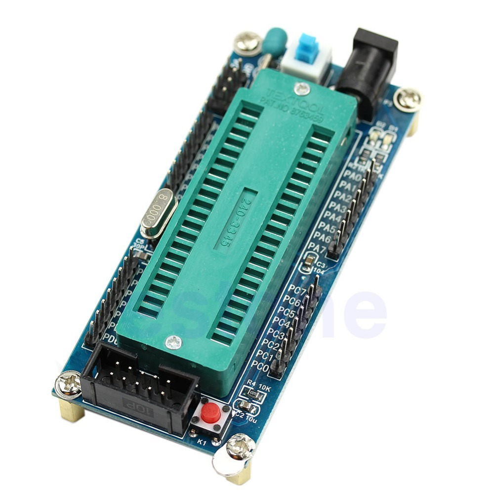 J34 Free Shipping ISP ATMEGA16 ATmega32 Minimum System Board AVR Minimum System Development Board(China (Mainland))