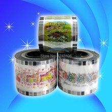 Manual cup sealing machine film PP/PE/EVA film,cup sealing fim, customized film,can print LOGO,bottle sealing film(China (Mainland))
