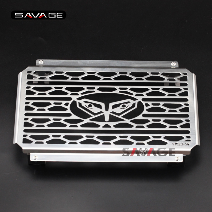 For YAMAHA MT-25 MT-03 MT25 MT03 2015 2016 Motorcycle Radiator Grille Guard Cover Protector Fuel Tank Protection Net