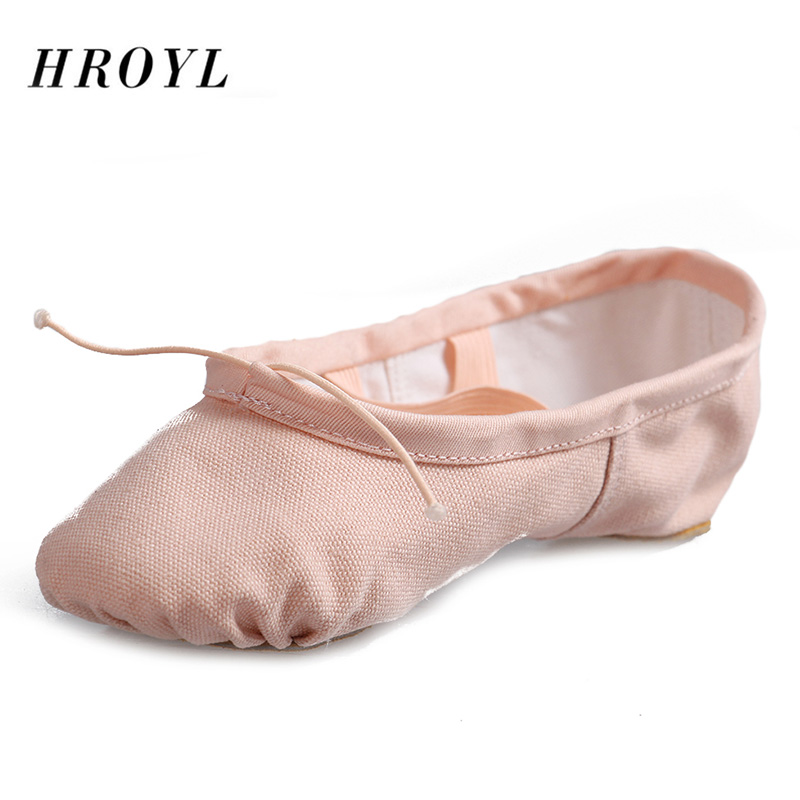 best quality breathable canvas children ballet shoes