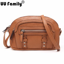 UU Family 2016 Summer Half-Moon Women Bag Panelled Bag Satchel Ladies Shoulder Hand Bag Crossbody Bag Women China Brand Handbags(China (Mainland))