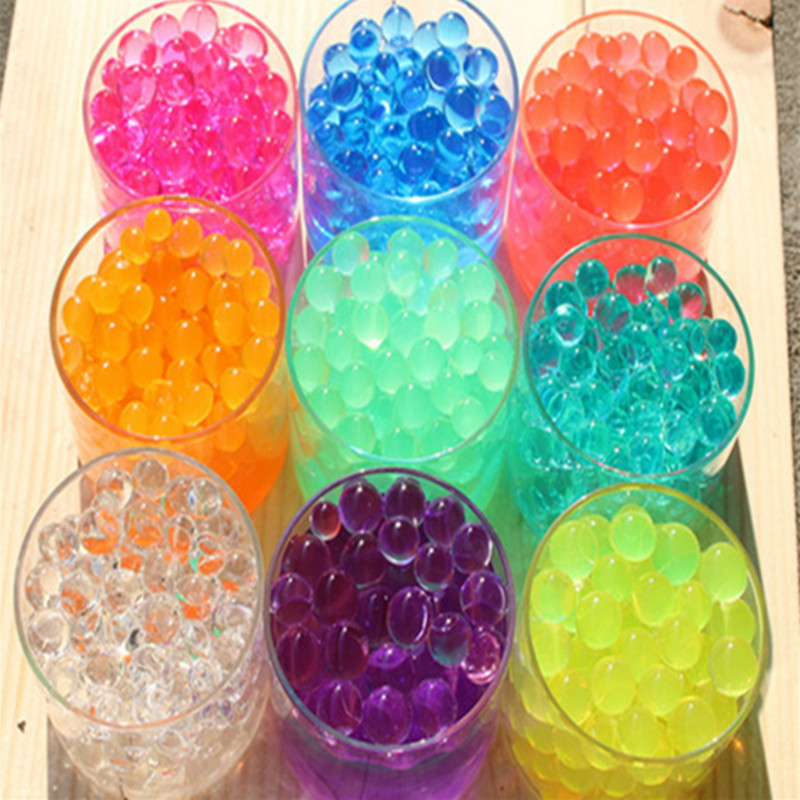 2000 Particles /lot funny toy water ball for girl funny toy new arrival(China (Mainland))
