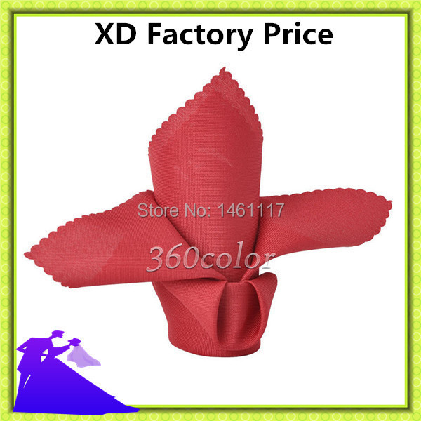 """Factory directly 20""""x20"""" Polyester plain Napkin match the table cloth factory manufacture(China (Mainland))"""