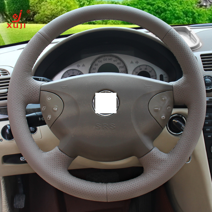 Xuji steering wheel cover for mercedes benz old e240 e63 for Mercedes benz steering wheel cover