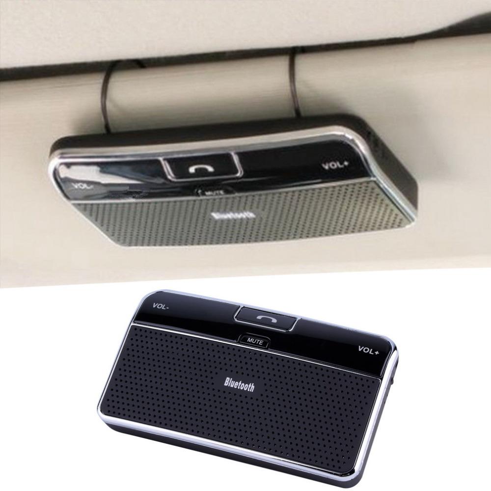 Bluetooth 4.0 Hands-free Multipoint Speakerphone Speaker Car Kit Sun Visor Hot Selling(China (Mainland))