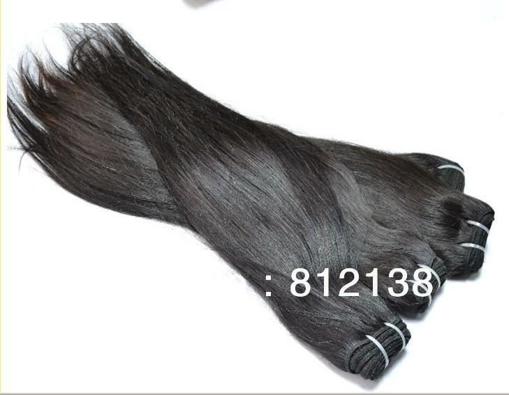 "3pcs mixed length.each size 1pcs,10""-30"" virgin Brazillian remy human hair extensions machine weft , straight hair,HS-H095"