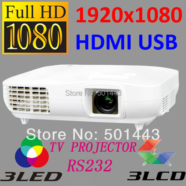 2015 New April Best Deals Full HD 1080P 3LED 3LCD Multimedia Proyector Home Theater System Video TV Projecteur Projector - China Brand CRE LED store