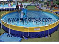 Outdoor metal frame pool / above ground pool metal swimming pool(China (Mainland))