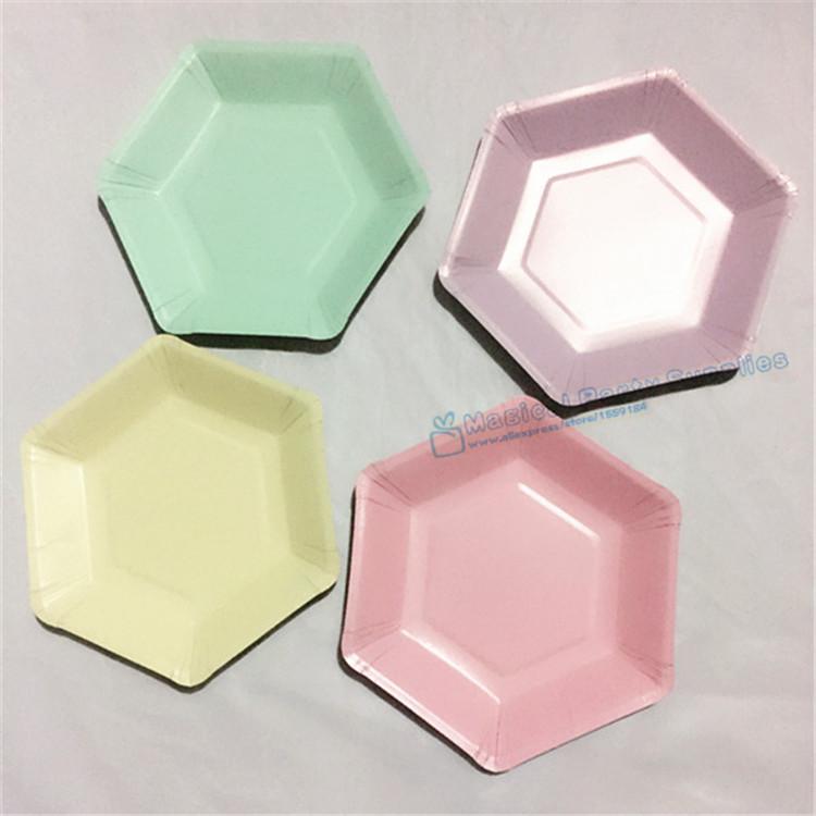 Online kaufen gro handel farbige pappteller aus china for Bunte pappteller
