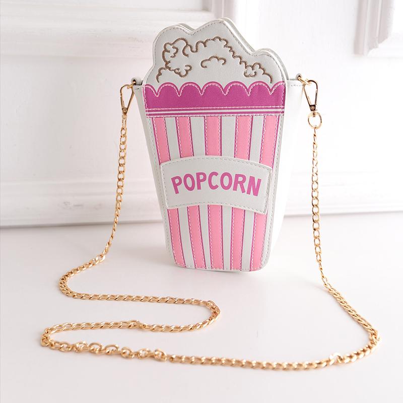 new arrival hot sale women fashion handbag popcorn chains crossbody messenger bag striped shoulder bag pu leather 5 colors<br><br>Aliexpress