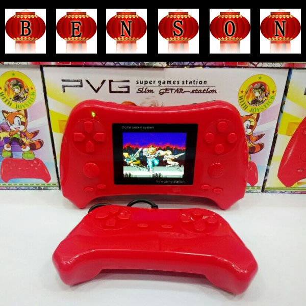 2015 New 40PCS Hot sale PVG Game Player 2.5Inch PVE Handheld Game Consoles 8 Bits doubles play Game Player(China (Mainland))