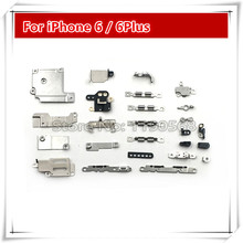 5set/lot Brand New Inner Accessories Inside Small Metal Parts Holder Bracket Shield Plate Home Logic Kit Set for iPhone 6 6plus