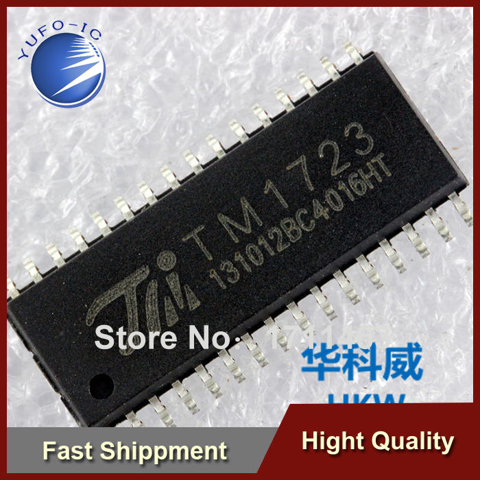 Free Shipping 20PCS LCD Driver IC TM1723 keyboard scan interface with SMD YF0918(China (Mainland))