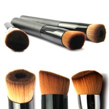 1Set 3Pcs Different Face Liquid Powder Foundation Blush Brush Set Professional Makeup Tools Flat Angled Contour kabuki Brushes