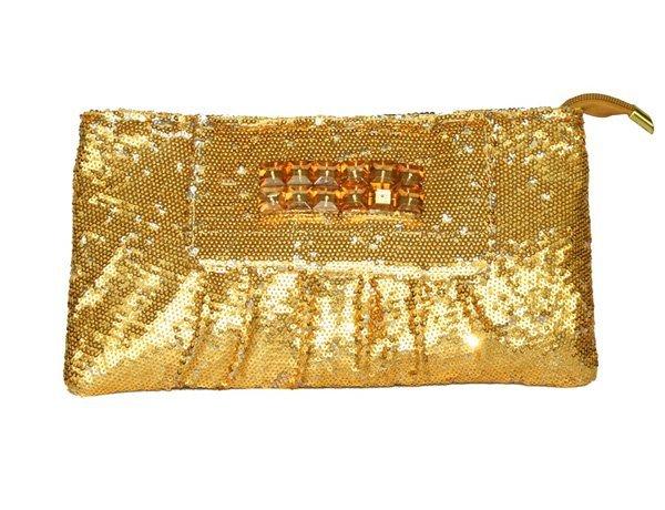 Fashion  high Honorable quality women handbag Series Crystal Rhinestone chain lady day clutches evening bags
