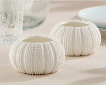 """12pcs/lot Beach Wedding Favors gift """"Sea Tidings"""" Sea Urchin Tealight Holders  (comes without the candle)(China (Mainland))"""