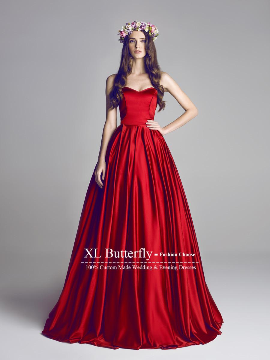 red wedding dresses red wedding dresses Red Wedding Dresses SLauqu