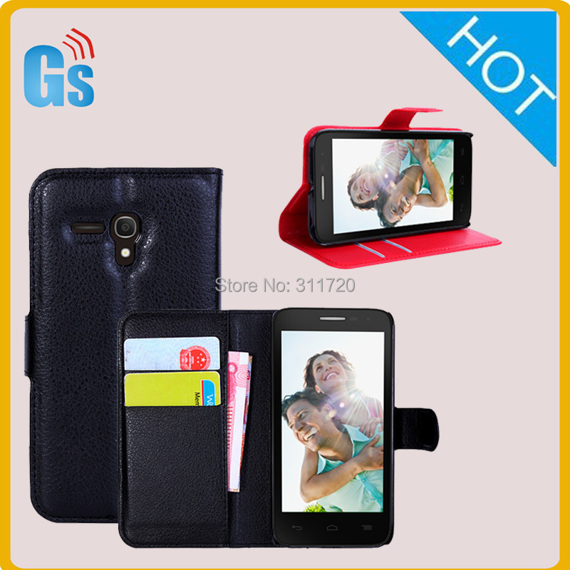 China Wholesale Market Magnetic Leather slot Case Flip Cover For Alcatel One Touch Pop d5/5038e Ot 5038(China (Mainland))