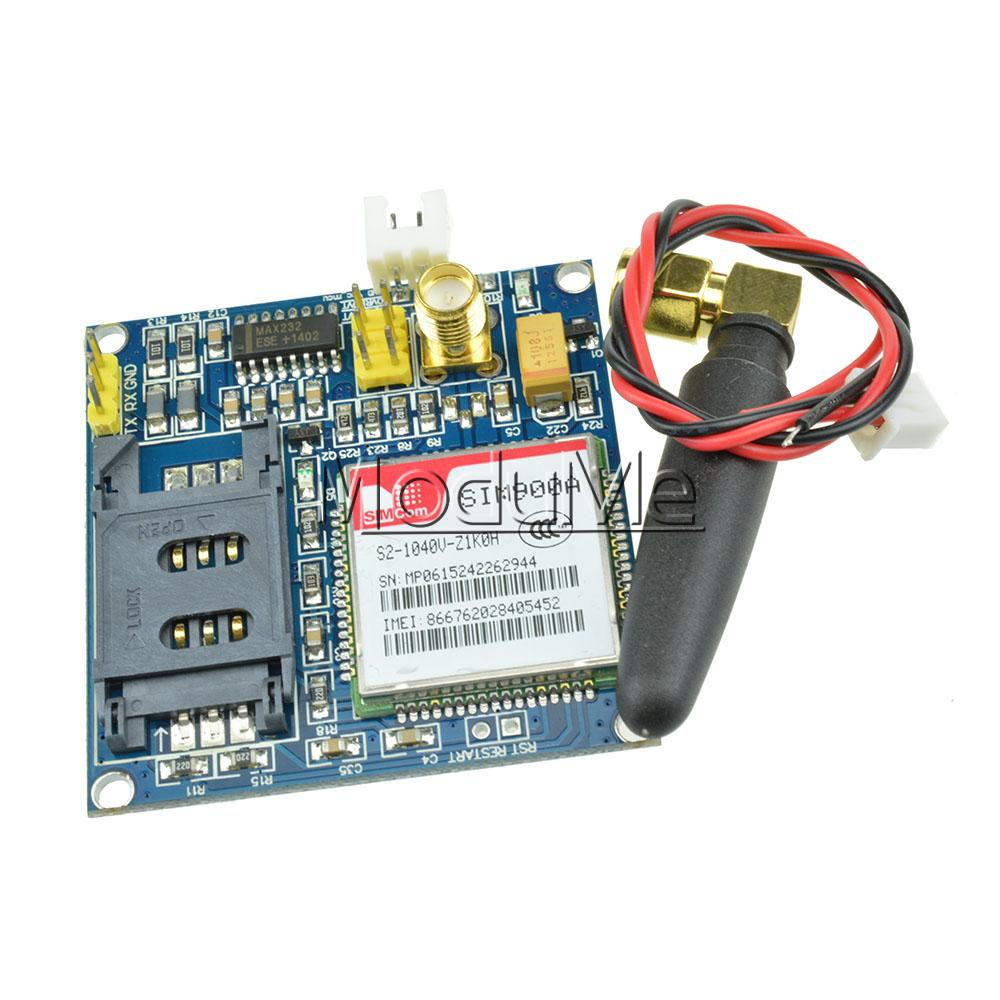 1PCS SIM900A 1800/1900 MHz Wireless Extension Module GSM GPRS Board + Antenna(China (Mainland))