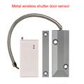 433MHz Metal wireless shutter door sensor door alarm system