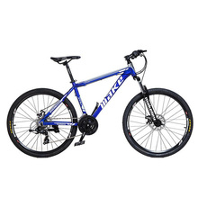 Buy 24 Speed Double disc Brake mountain Bike 26 inch wheels Aluminum alloy Damping Bicycle Bead Pedal MTB Bike for $269.10 in AliExpress store