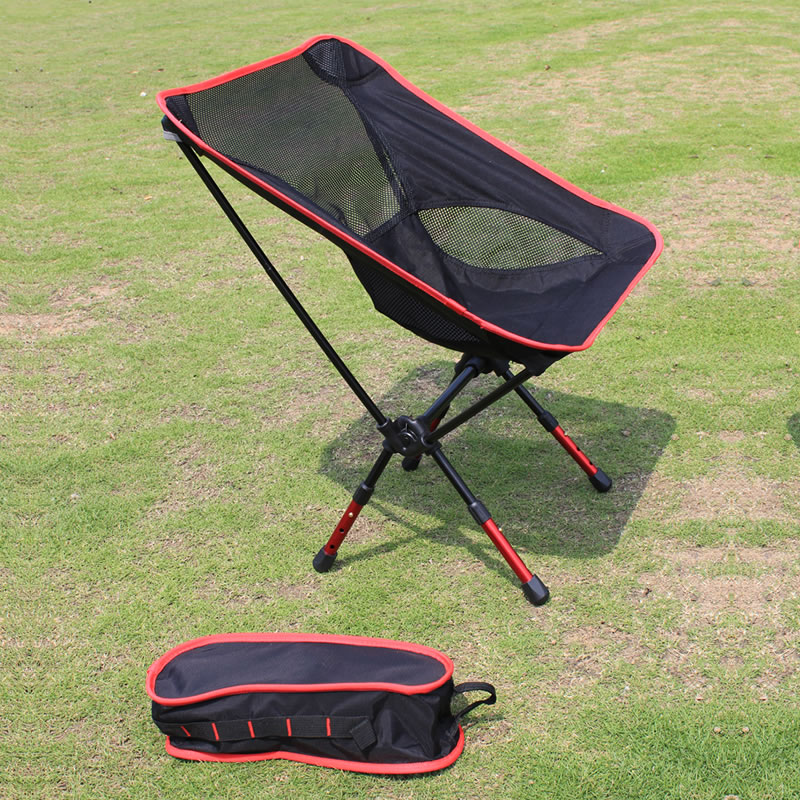 Wholesale Price Portable Aluminium Alloy Chair Outdoor Camping Chair Fishing