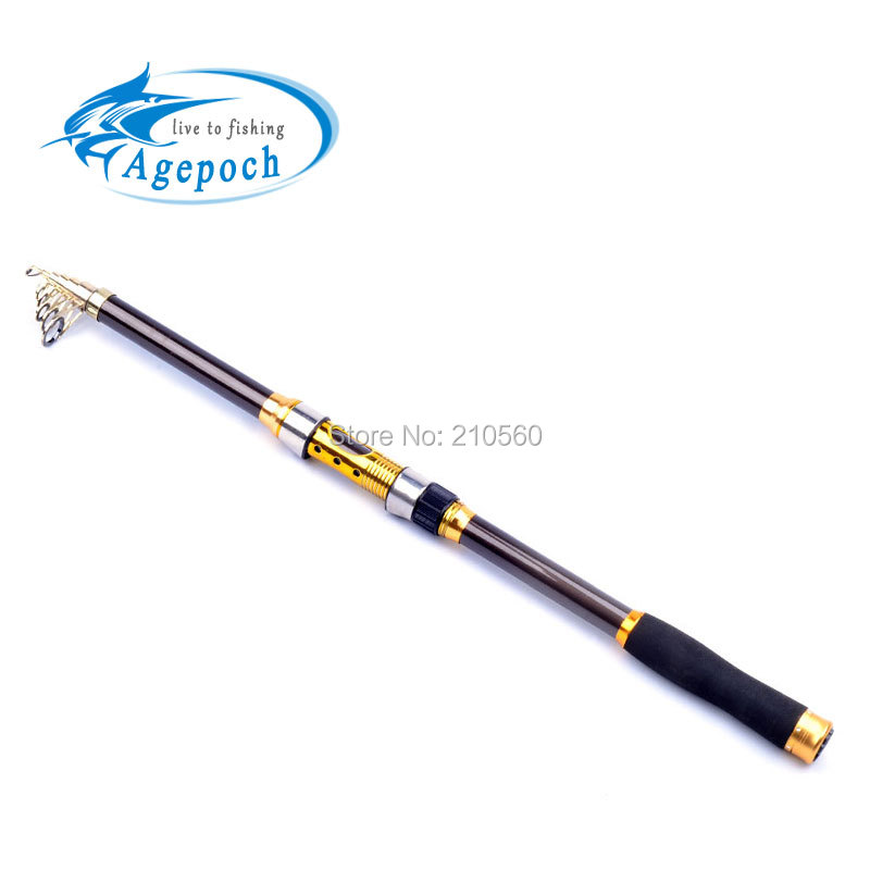 Top quanlity telescopic surf casting reel rod spinning fly for Best telescoping fishing rod