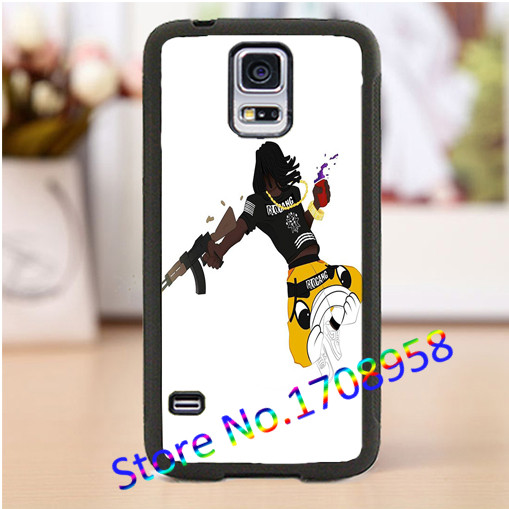 Chief Keef Glo Gang Sun cell phone cover case for samsung galaxy s3 s4 s5 s6 s7 note 2 note 3 note 4 #WL2296(China (Mainland))