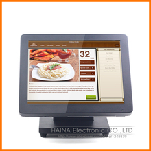 15 Inch HDMI All In One Touch Screen PC for Cash Register Machine, All In One POS Terminal