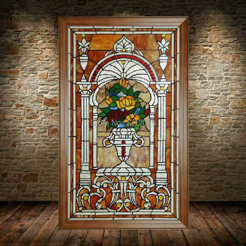 Flowers Vintage Handcrafted Arts Home Decoration Wall Decor 21x35