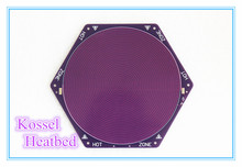 kossel rostock hotbed heatbed heater PCB 12V 120w 170mm 200mm purple reprap seemecnc onyx MK2A MK2B 3d printer round