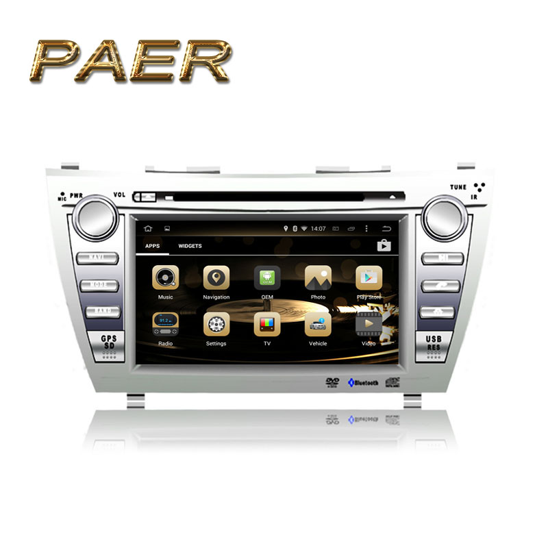 1024 600 quad core android 5 1 fit toyota camry 2007 2008 2009 2010 2011 car dvd player gps. Black Bedroom Furniture Sets. Home Design Ideas