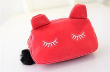 2015 New Women & Kids Children Bags cartoon cat Mini coin Purses Women Lady Bags Pouch Makeup Case Holder BAG Handbag #BC02