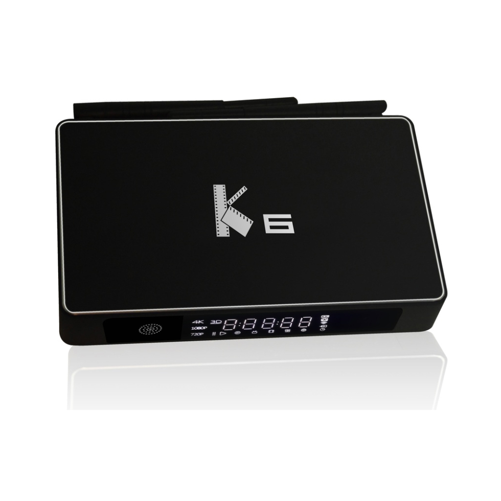 Smart Android TV Box Audiophile K6 Amlogic S812 Quad Core Android 5.1.1 2GB RAM 16GB Flash 1000 BaseT With External HDD SATA(China (Mainland))