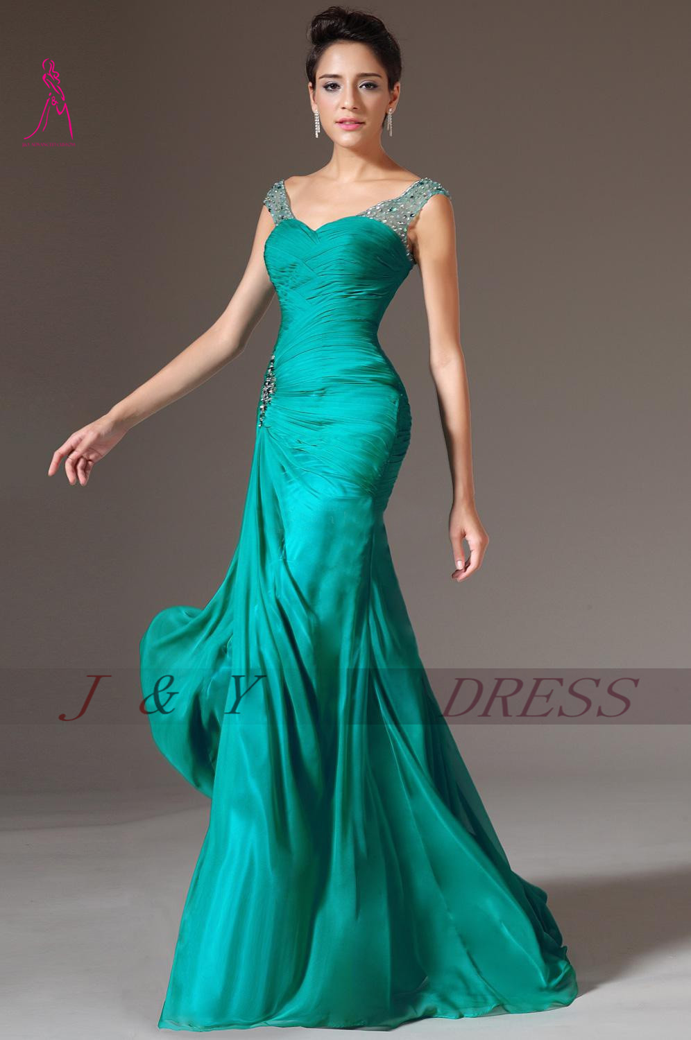 Famous Emerald Green Party Dresses Images - All Wedding Dresses ...