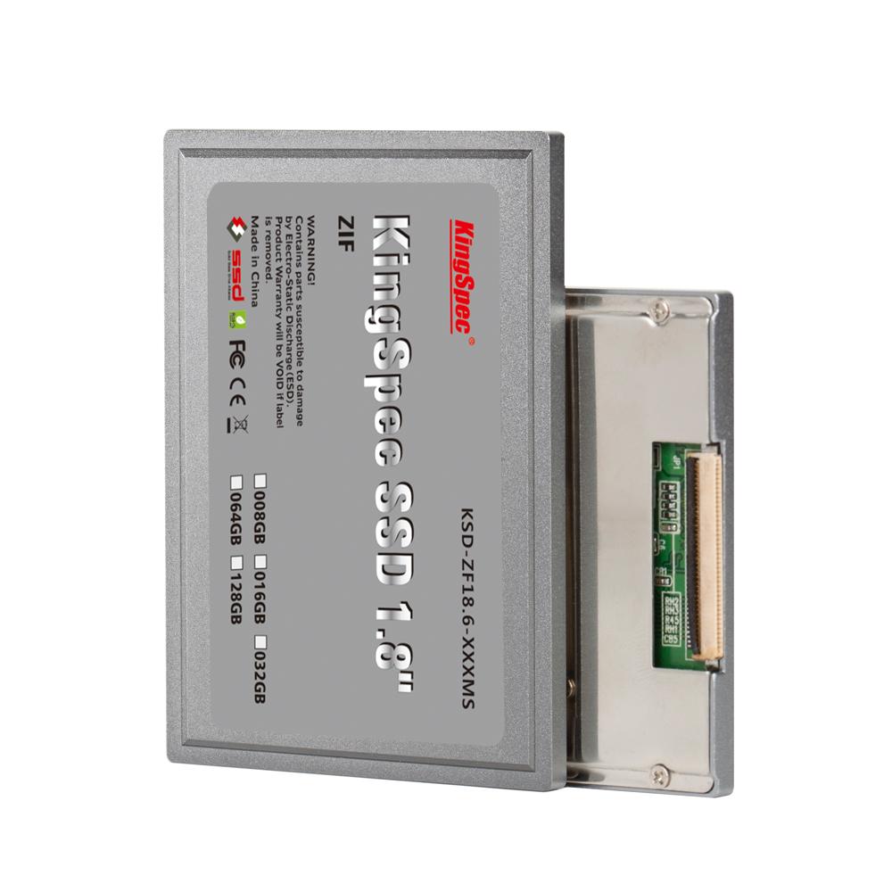 KSD-ZF18.6-128MS 128GB ZIF Internal SSD 1.8'' IDE Flash Drive For HP 2510P 2710P HP1010TU Mini 1000 Compaq 2710p Compaq 2510p(China (Mainland))