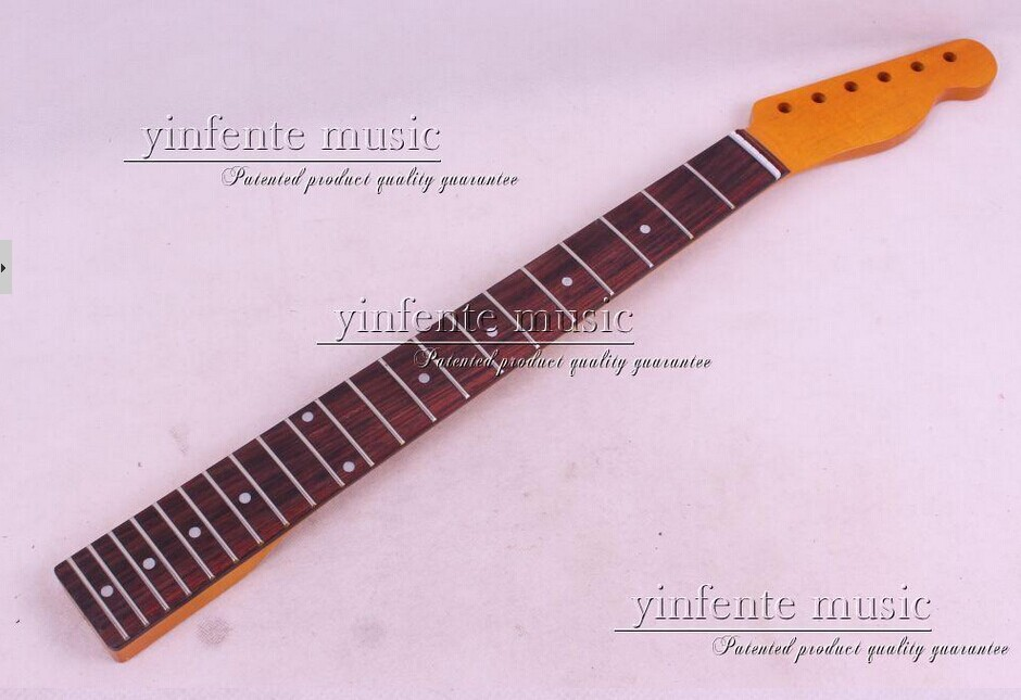 Фотография one pcs electric guitar neck high quality mahogany with rosewood fingerboard